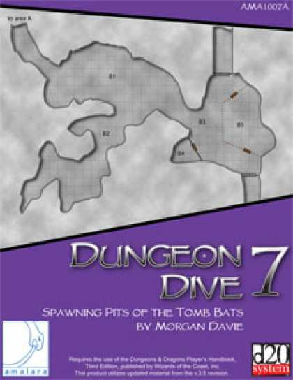 Role Playing Games - Dungeon Dive 7: Spawning Pits of the Tomb Bats