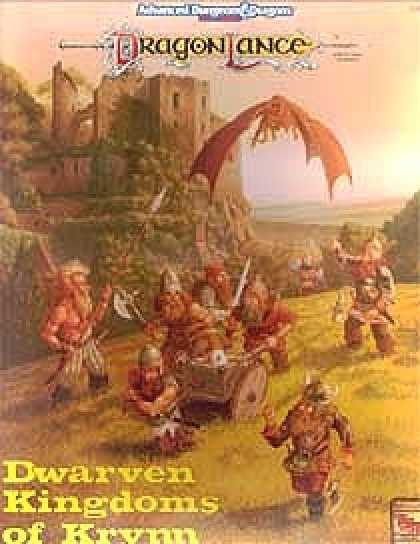 Role Playing Games - Dwarven Kingdoms of Krynn