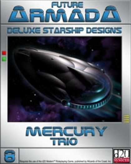 Role Playing Games - Future Armada: Mercury Trio