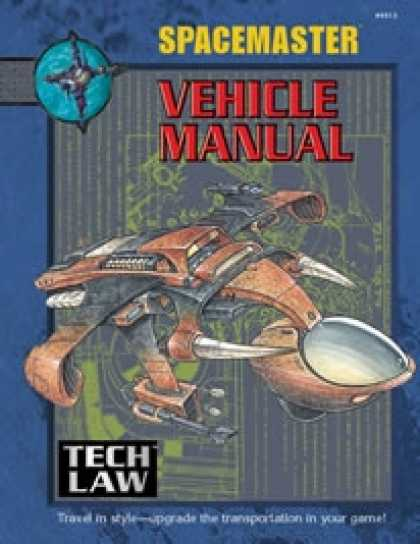 Role Playing Games - Spacemaster Tech Law: Vehicle Manual PDF
