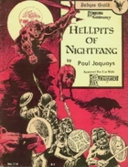 Role Playing Games - Hellpits of Nightfang