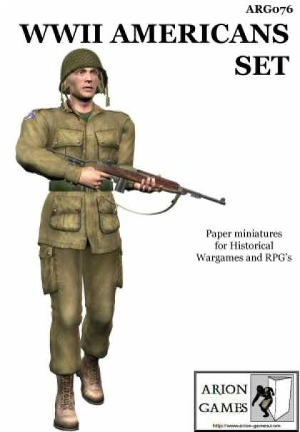 Role Playing Games - WWII Americans Set
