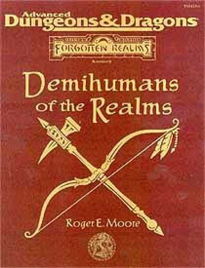 Role Playing Games - Demihumans of the Realms