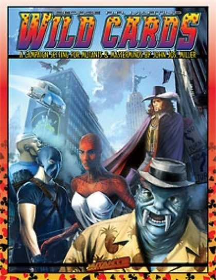 Role Playing Games - Wild Cards
