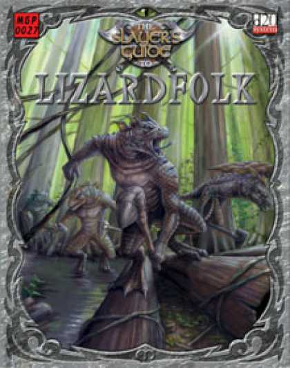 Role Playing Games - Slayer's Guide to Lizardfolk
