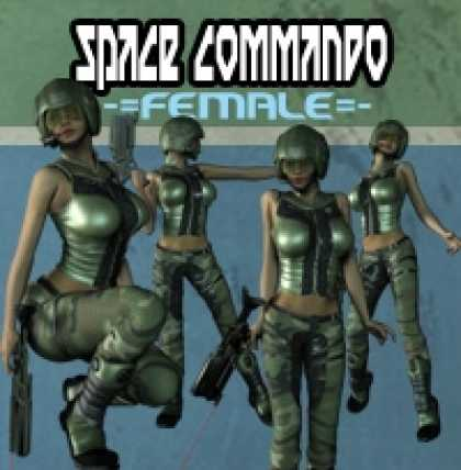 Role Playing Games - ERG007: Space Commando Female