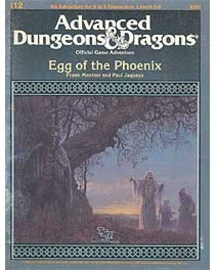 Role Playing Games - I 12 - Egg of the Phoenix