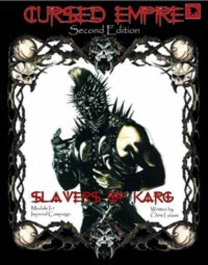 Role Playing Games - Slavers Of Karg Game Aid