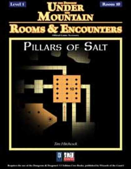Role Playing Games - Rooms & Encounters: Pillars of Salt