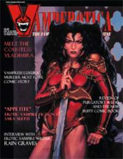 Role Playing Games - Vamperotica Magazine V1N02