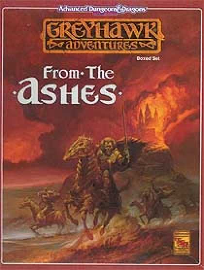 Role Playing Games - From the Ashes