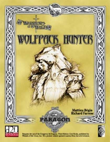 Role Playing Games - Wolfpack Hunter