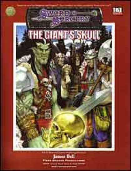 Role Playing Games - The Giant's Skull