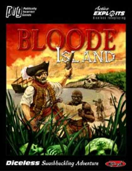 Role Playing Games - Bloode Island: Diceless Swashbuckling Adventure