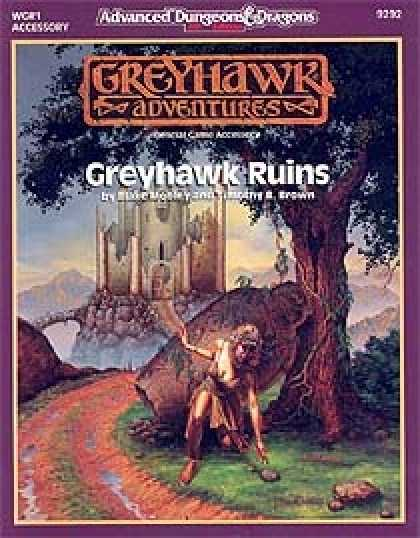 Role Playing Games - Greyhawk Ruins