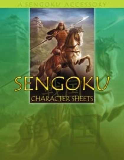 Role Playing Games - Sengoku Character Sheets