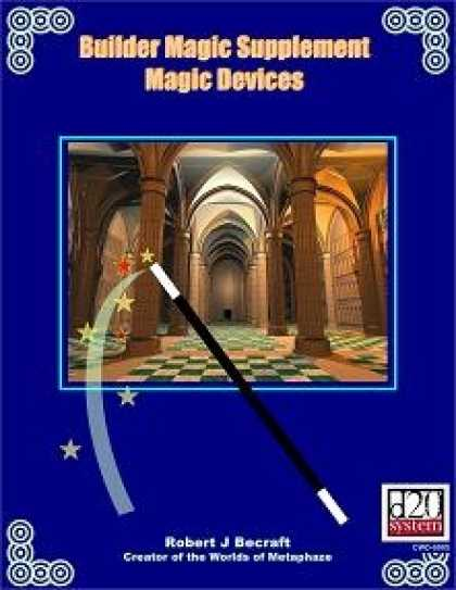 Role Playing Games - Builder Magic Supplement Magic Devices