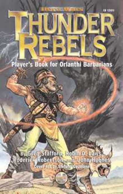 Role Playing Games - HeroQuest: Thunder Rebels