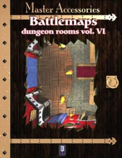 Role Playing Games - Battlemaps: Dungeon Rooms Vol. VI