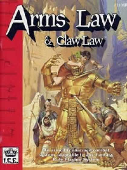 Role Playing Games - RM2 Arms Law & Claw Law