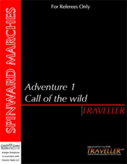 Role Playing Games - Traveller - Adventure 1: Call of the Wild