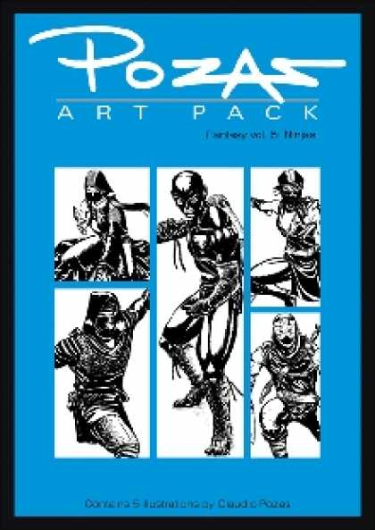 Role Playing Games - Pozas Art Pack Fantasy vol. 5: Ninjas!