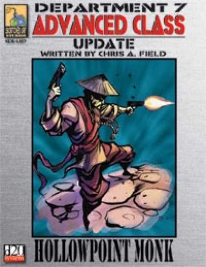 Role Playing Games - Dept. 7 Adv. Class Update: Hollowpoint Monk