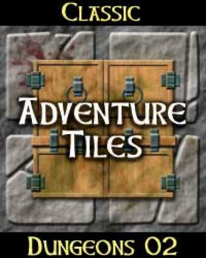 Role Playing Games - Classic Adventure Tiles: Dungeons 02