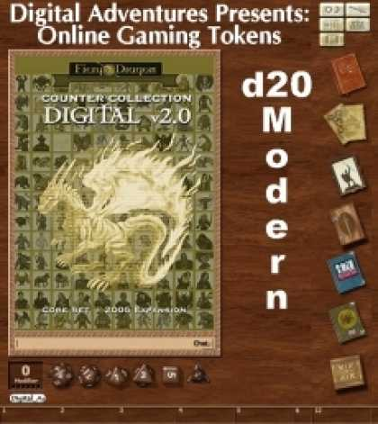 Role Playing Games - Online Gaming Tokens Pack #4: d20 Modern