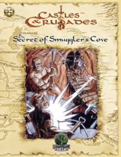 Role Playing Games - Castles & Crusades: The Secret of Smuggler's Cove
