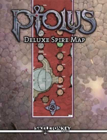 Role Playing Games - Ptolus Deluxe Spire Map