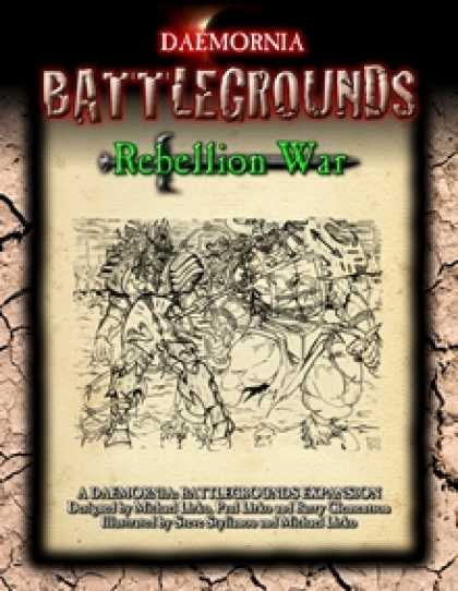 Role Playing Games - Battlegrounds: Rebellion War Expansion