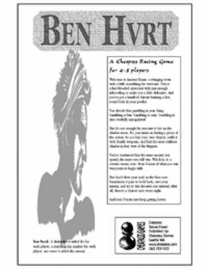 Role Playing Games - Ben Hvrt