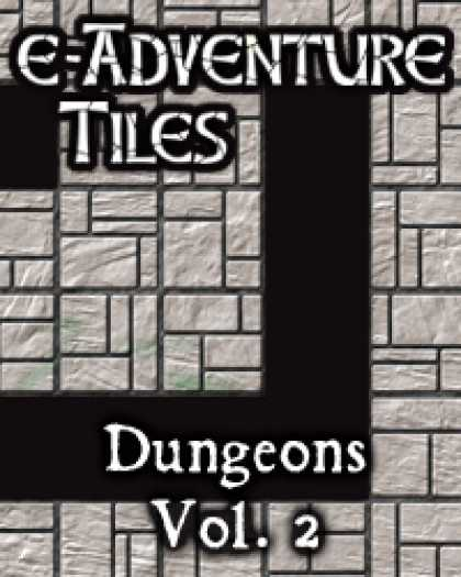 Role Playing Games - e-Adventure Tiles: Dungeons Vol. 2