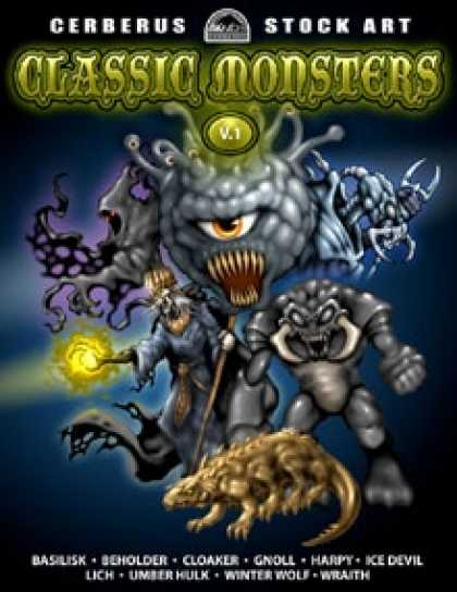 Role Playing Games - Classic Monsters - Volume 1