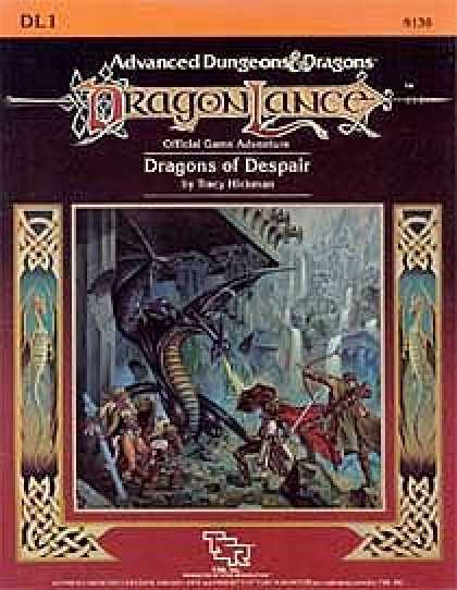 Role Playing Games - Dragons of Despair