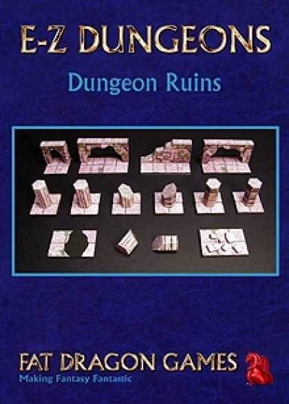 Role Playing Games - E-Z DUNGEONS: Dungeon Ruins