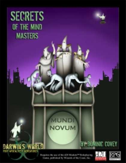 Role Playing Games - Secrets of The Mind Masters