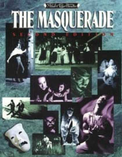Role Playing Games - The Masquerade (2nd Edition)