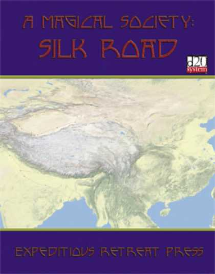 Role Playing Games - A Magical Society: Silk Road
