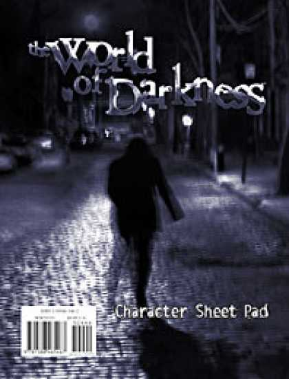 Role Playing Games - World of Darkness: Character Pad