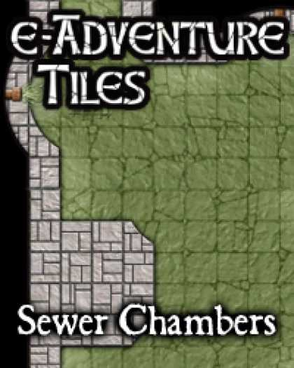 Role Playing Games - e-Adventure Tiles: Sewer Chambers