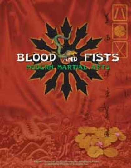 Role Playing Games - Blood and Fists: Modern Martial Arts