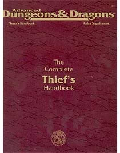 Role Playing Games - Complete Thief's Handbook