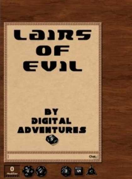 Role Playing Games - Lairs of Evil - Three Short Fantasy Ground Adventures