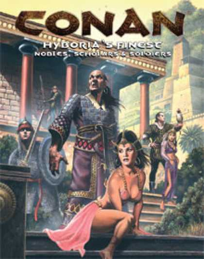 Role Playing Games - Hyboria's Finest Nobles, Scholars & Soldiers