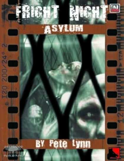 Role Playing Games - Fright Night: ASYLUM
