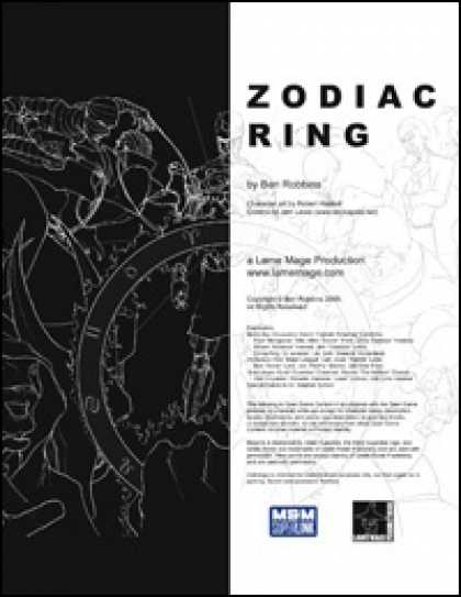 Role Playing Games - Zodiac Ring