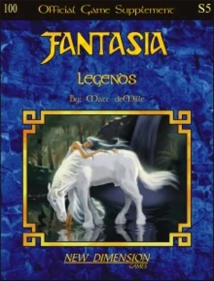 Role Playing Games - Fantasia: Legends--Supplement S5