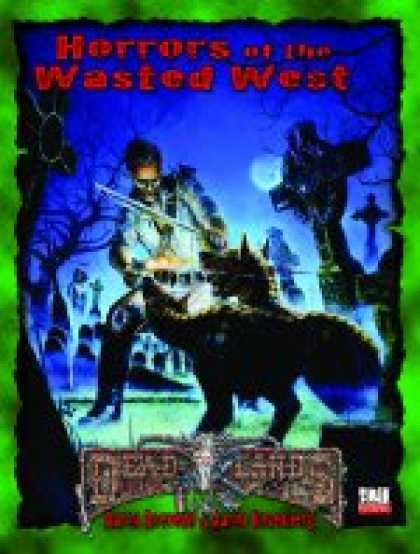 Role Playing Games - PEG6107 Horrors of the Wasted West D20